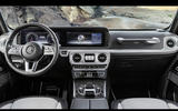 Mercedes-Benz G-Class interior revealed ahead of January launch
