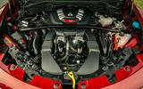 Alfa Romeo Stelvio Quadrifoglio 2020 UK first drive review - engine