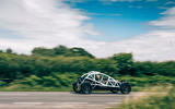 Ariel Nomad R 2020 UK first drive review - on the road rear