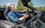 Aston Martin DBS Superleggera Volante 2019 first drive review - Richard Lane driving