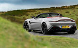 Aston Martin Vantage Roadster 2020 UK first drive review - static rear