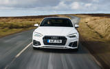 Audi A5 Coupe 2020 UK first drive review - on the road nose