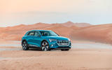 Audi E-tron quattro 2018 first drive review - static front