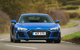 Audi R8 RWD 2020 UK first drive review - on the road front