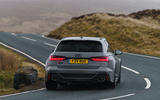 Audi RS6 2020 UK first drive review - cornering rear
