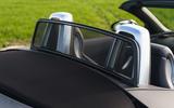 Audi TT Roadster 2019 UK first drive review - wind diffuser