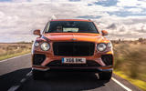 Bentley Bentayga 2020 UK first drive review - on the road nose
