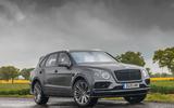 Bentley Bentayga Speed 2019 UK first drive review - static