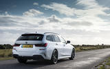 BMW 3 Series Touring 330d 2019 UK first drive review - static rear