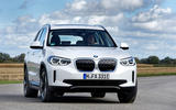 BMW iX3 2020 first drive review - cornering front
