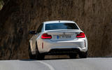 BMW M2 Competition 2018 first drive review cornering rear