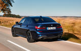 BMW M340i xDrive 2019 first drive review - on the road rear