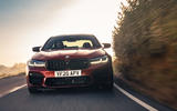 BMW M5 Competition 2020 UK first drive review - on the road front