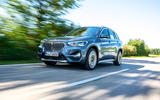 BMW X1 25d 2019 first drive review - on the road front