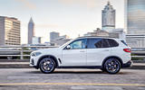 BMW X5 2019 first drive review city driving side