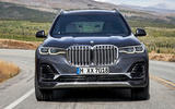 BMW X7 2019 first drive review - on the road nose