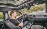 Cupra Ateca 2018 first drive review - Dan Prosser driving