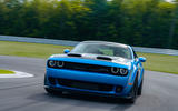 Dodge Challenger Hellcat Redeye Widebody 2018 first drive review - track front