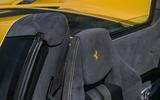 Ferrari 488 Pista Spider 2019 first drive review - seats