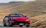 18 Ferrari Portofino M 2021 UK FD cornering
