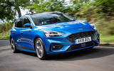 Ford Focus ST-Line 182PS 2018 UK first drive review - on the road hero