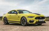 18 Ford Mustang Mach 1 2021 UK first drive review static front