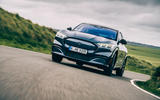 Ford Mustang Mach E 2021 UK first drive review -  on the road low