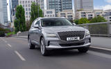 18 Genesis GV80 2021 UK FD on road nose
