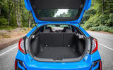 Honda Civic Type R 2020 UK first drive review - boot