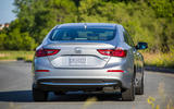 Honda Insight 2019 first drive review - cornering rear