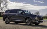 18 Hyundai Santa fe 2021 UK first drive review static
