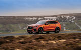 18 Jaguar F Pace SVR 2021 UK first drive review on road