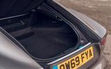 Jaguar F-Type 2020 UK first drive review - boot