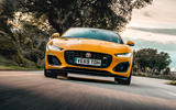 Jaguar F-Type Coupé 2020 first drive review - on the road front