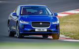 Jaguar I-Pace 2018 review track front