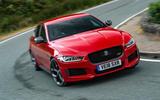 Jaguar XE 300 Sport 2018 UK first drive review cornering