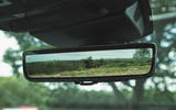 Jaguar XE P300 2019 UK first drive review - rear view mirror