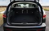 18 Jaguar XF Sportbrake P250 2021 UK review boot