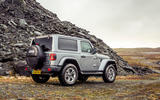 Jeep Wrangler 2019 UK first drive review - static rear