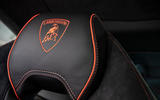 Lamborghini Huracan Evo 2019 first drive review - seat details