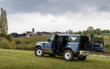 18 Land Rover Defender Hard Top Commercial 110 UK FD static rear