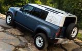 Land Rover Defender Hard Top - hero rear