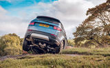 Land Rover Discovery Sport P200 2019 UK first drive review - offroad rear