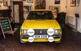 Lotus rally car