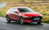 Mazda 3 2019 UK first drive review - on the road