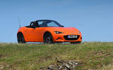 Mazda MX-5 30th Anniversary Edition 2019 UK first drive review - static front