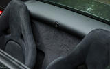 McLaren 570S Spider Track Pack 2018 UK review parcel shelf