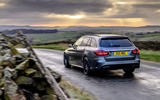 Mercedes-AMG C63 S Estate 2019 first drive review - on the road rear