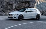 Mercedes-Benz A-Class A180D cornering side