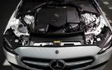 18 Mercedes Benz C Class 2021 FD engine